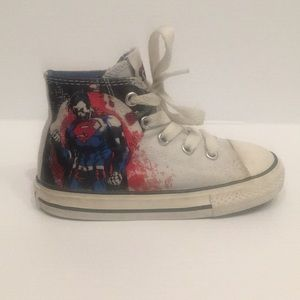 Superman Converse All Stars  Toddler 8